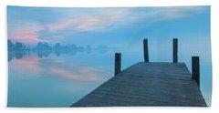 Winter Blues Beach Sheet