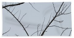 Winter Branches Beach Sheet