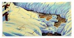 Winter Brook Beach Sheet
