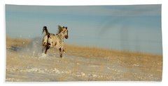 Winter Charger Beach Towel