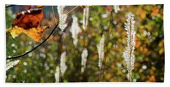 Winter Color Beach Towel by George Randy Bass