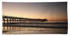 Winter Dawn Beach Sheet