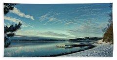 Winter Dock Beach Sheet