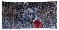 Winter, Down East Maine  Beach Sheet