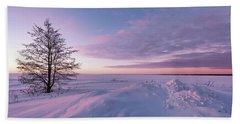 Winter Dreams Beach Sheet