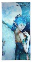 Winter Fairy In The Mist Beach Sheet