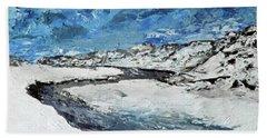 Winter Filled Arroyo Beach Sheet