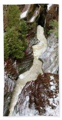 Winter Gorge Beach Towel