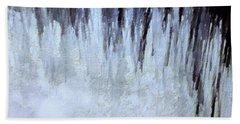 Winter Gray Beach Sheet