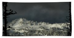 Winter In North Cascades Beach Towel