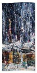 Winter Light Iv Beach Sheet
