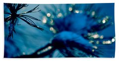 Beach Towel featuring the photograph Winter Magic by Susanne Van Hulst