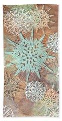 Winter Nostalgia Beach Towel by AugenWerk Susann Serfezi