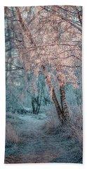 Winter Path #h1 Beach Towel