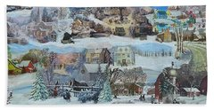 Winter Repose - Sold Beach Towel