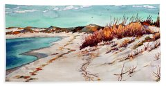 Winter Sands Beach Towel