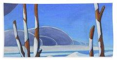 Winter Solace II Beach Sheet