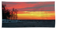Winter Solstice Eve Beach Towel
