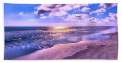 Winter Solstice Sunrise Beach Towel