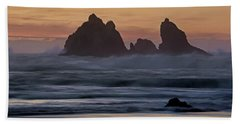 Beach Towel featuring the photograph Winter Storm - 365-248 by Inge Riis McDonald