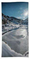 Winter Sun Beach Sheet