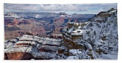 Winter Vista - Grand Canyon Beach Towel