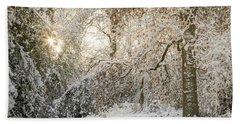 Winter Wonderland 2 Beach Sheet