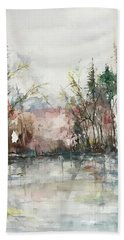 Winters  Dawn Series Beach Towel