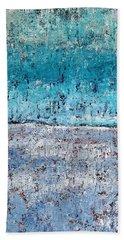 Wintry Mesa Beach Towel