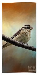 Wisconsin Songbird Beach Towel