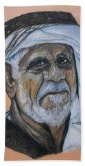 Wisdom Portrait Beach Towel
