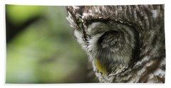 Wise 'ol Owl Beach Towel