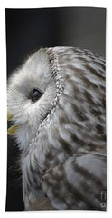 Wise Old Owl Beach Towel