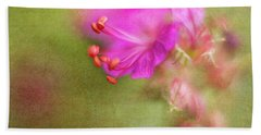 Wisp Of Spring Beach Towel by Sharon Johnstone
