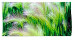 Wispy Green Beach Sheet