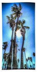 Wispy Palms Beach Towel