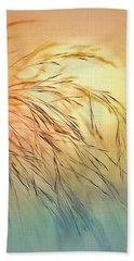 Wispy Sunset Beach Towel by Nina Bradica