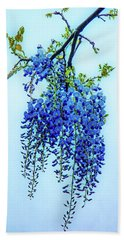 Beach Towel featuring the photograph Wisteria by Chris Lord