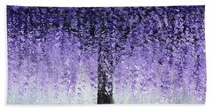 Wisteria Dream Beach Sheet