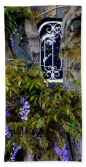 Wisteria Window Beach Towel