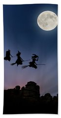 Witches Over Combstone Tor Beach Towel