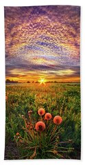 Beach Towel featuring the photograph With Gratitude by Phil Koch