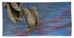 Withered Leaves Beach Towel