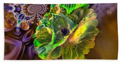 Beach Towel featuring the photograph Within The Mind Meld by Jeff Swan
