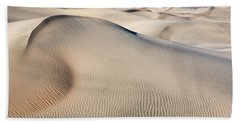 Beach Towel featuring the photograph Without Water by Jon Glaser