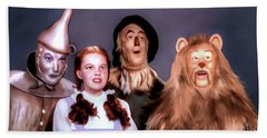 Wizard Of Oz Beach Towel by Pennie  McCracken