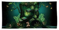 Wizard Stump Beach Sheet by Serena King