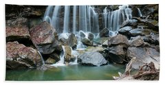 Wolf Creek Falls Beach Towel