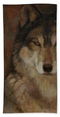 Wolf Head Beach Towel