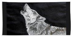 Wolf Howl Beach Sheet
